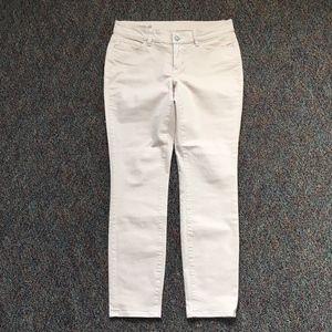Ann Taylor Tan Modern Fit Jeans 8